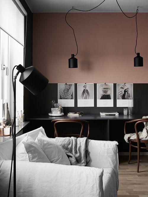 doppio colore parete