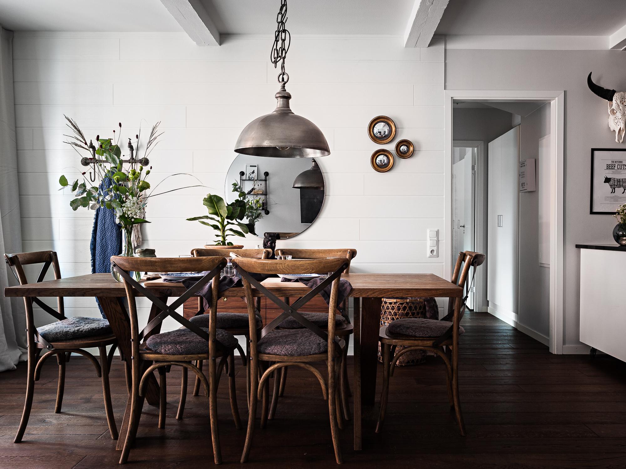 Una sala da pranzo retro 39 distinto interior design for Sala pranzo design