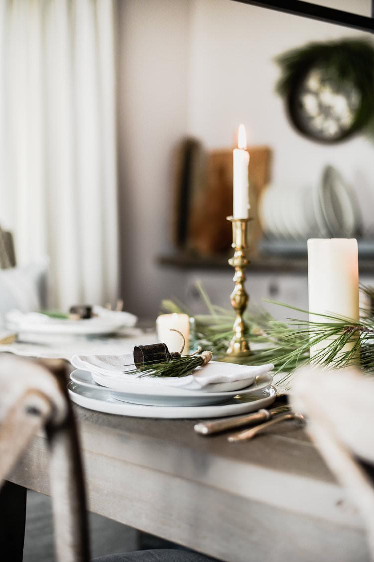 Arredare Tavola Natale la tavola del pranzo di natale - distinto interior design
